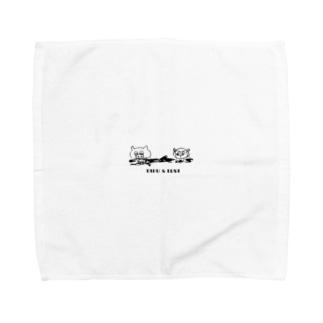 タブとルサ 漂流編  Towel handkerchiefs