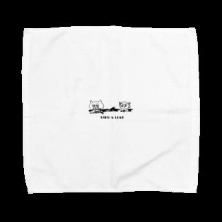 絵本はパンクのタブとルサ 漂流編  Towel handkerchiefs