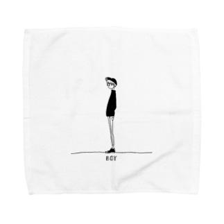 BOY Towel handkerchiefs