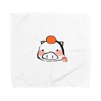 もちもちぶー Towel handkerchiefs