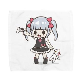 ゲームみこと Towel handkerchiefs
