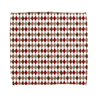 菱形 Towel handkerchiefs