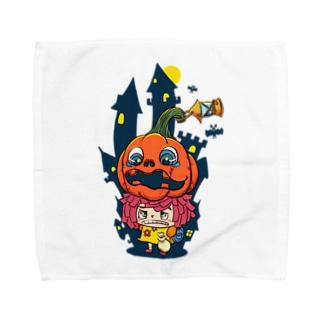 ハロウィン×ハロウィン Towel handkerchiefs