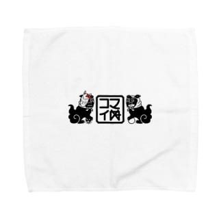 コマイぬ Towel handkerchiefs
