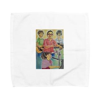 邂逅2018 Towel handkerchiefs