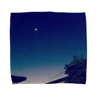 月 Towel handkerchiefs