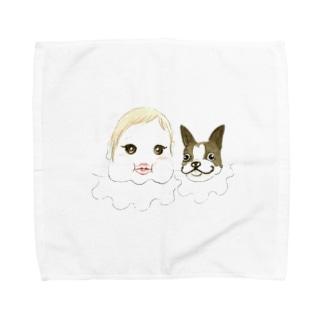 まぶだち Towel handkerchiefs