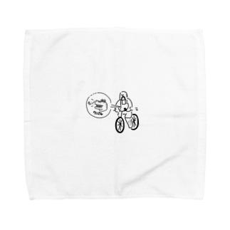 ぶーさん。のワンワンわにさん Towel handkerchiefs