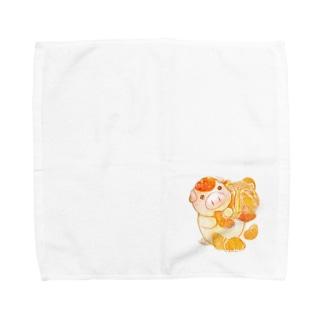 もぐぶーみかん Towel handkerchiefs