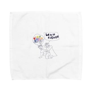 Beautiful!! by グレートタイガー Towel handkerchiefs