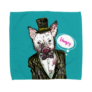 Hungry Pig Towel handkerchiefs