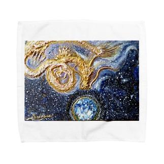 宝珠の地球 Towel handkerchiefs