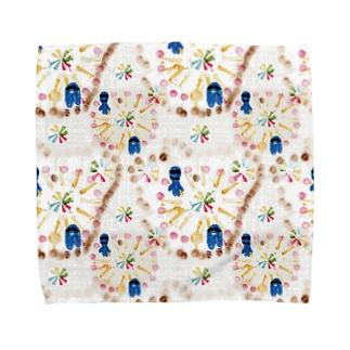 abe1013 Towel handkerchiefs