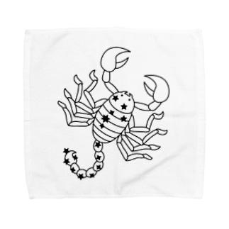 Scorpio~さそり座~10/24-11/22 Towel handkerchiefs