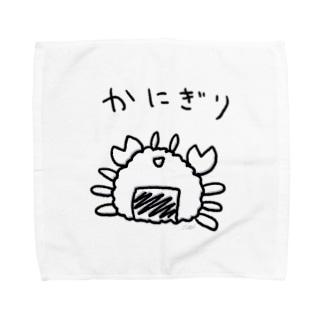 かにぎり Towel handkerchiefs