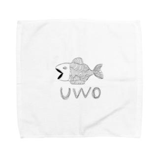 yoichi clubのUWO Towel handkerchiefs