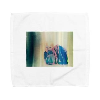 毛布にくるまってるだけなのにむちゃクソ可愛いみゅーちゃん Towel handkerchiefs