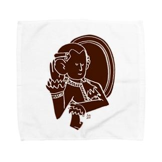 耳がきこえるーモーツァルト Towel handkerchiefs