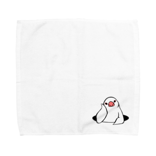 Very berry tasteのアンニュイ文鳥 Towel handkerchiefs