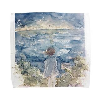 望郷 タオルハンカチ Towel handkerchiefs