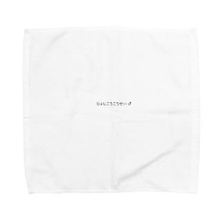 じょしこうこうせい♂ Towel handkerchiefs