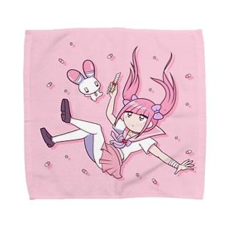 いちごみるくのゆめ Towel handkerchiefs