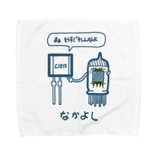 なかよし(トランジスタ&真空管) Towel handkerchiefs