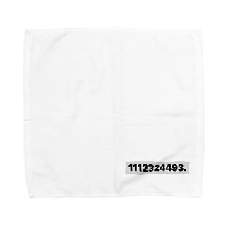1112324493. Towel handkerchiefs