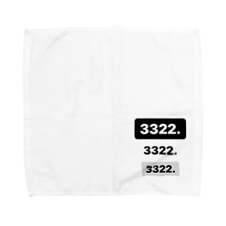 3322.3322.3322 Towel handkerchiefs