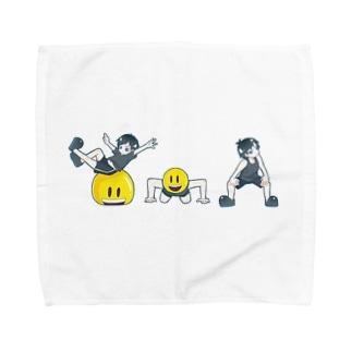 トレーナーゆうグッズ Towel handkerchiefs