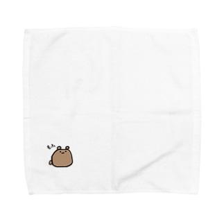 もふくま Towel handkerchiefs