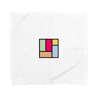 カラフル四畳半 Towel handkerchiefs