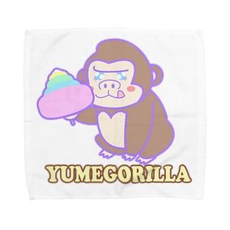 YumeGorilla(ゆめごりら)グッズ タオルハンカチ