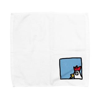 コケッ!! Towel handkerchiefs