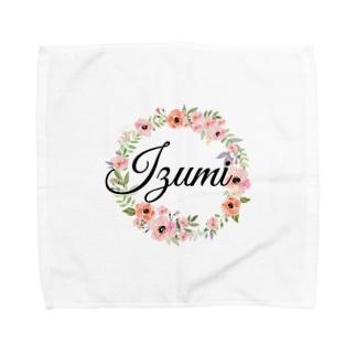 いずネームグッズ02 Towel handkerchiefs