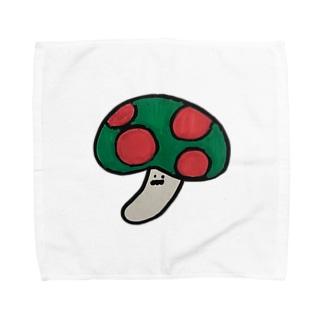 きのこ Towel handkerchiefs