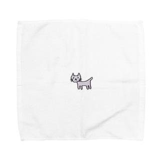 奇妙なねこ Towel handkerchiefs