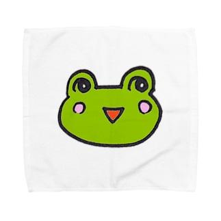 かえるのなおたろう Towel handkerchiefs