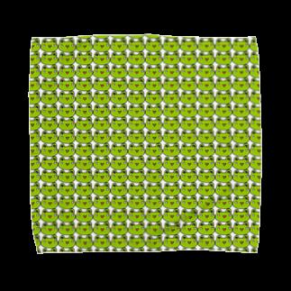かえるのなおたろうのかえるのなおたろう Towel handkerchiefs