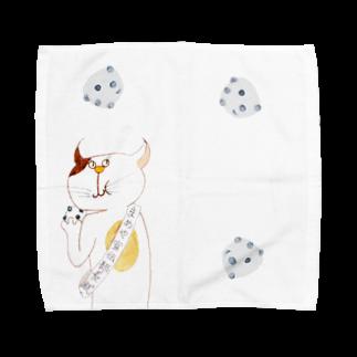 MAYUGENEKOpresentsのきのうのアイツ まめやver. Towel handkerchiefs
