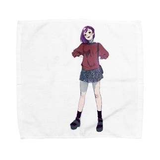 「デートしよっか」 Towel handkerchiefs