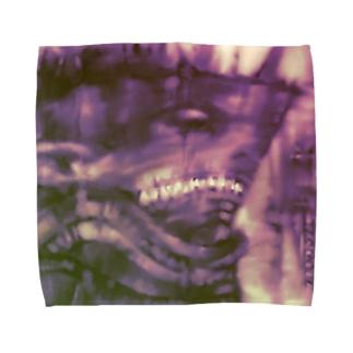 戦艦サメ獣人 Towel handkerchiefs