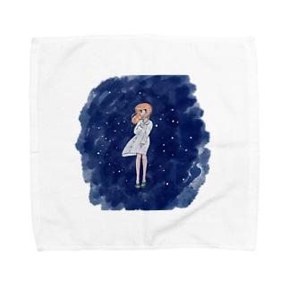 夢 Towel handkerchiefs