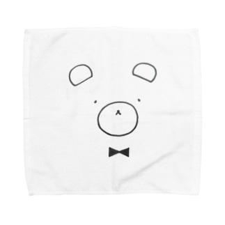 くまさん Towel handkerchiefs