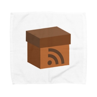 電波ダンボール Towel handkerchiefs
