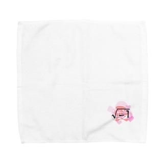 愛 Towel handkerchiefs