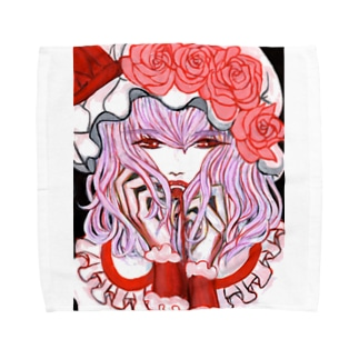 東方projectレミリアスカーレット Towel handkerchiefs