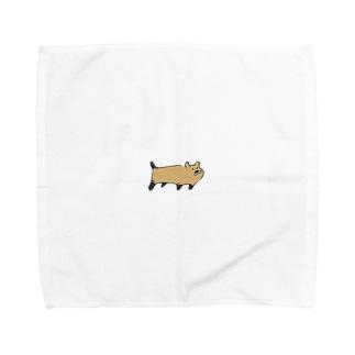 ヤブイヌ Towel handkerchiefs