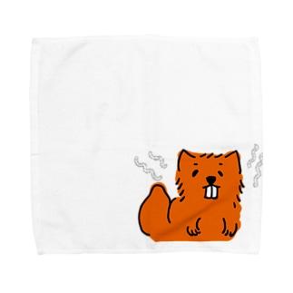 アオダイショウ Towel handkerchiefs