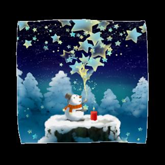 KimikoUmekawaの星屑 Towel handkerchiefs